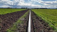 450mm Poly pipeline